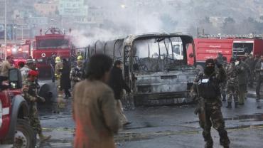 انفجار بمب جنبش روشنایی افغانستان را خونین کرد. 80 کشته 231 زخمی